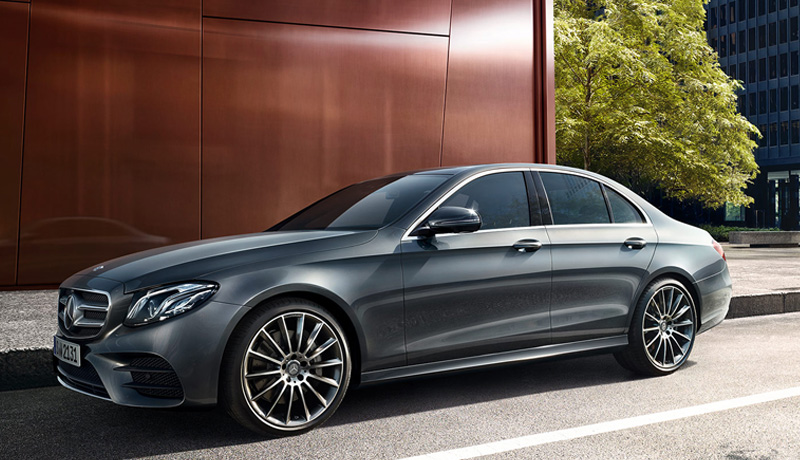 Easytransfer's Sedan: Mercedes E-Class.